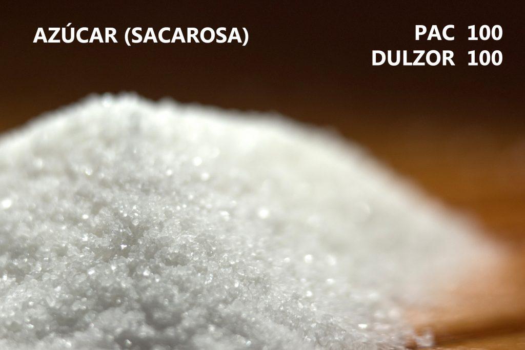 El azúcar o sacarosa