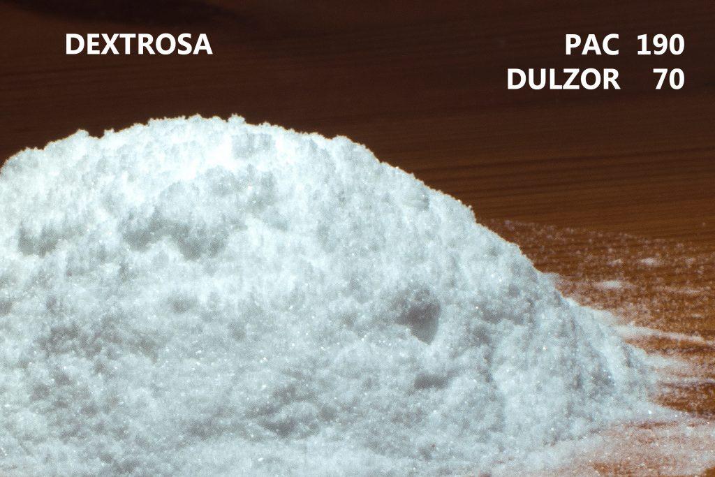 PAC de la dextrosa y su dulzor