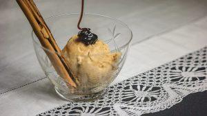 como hacer helado de crema catalana