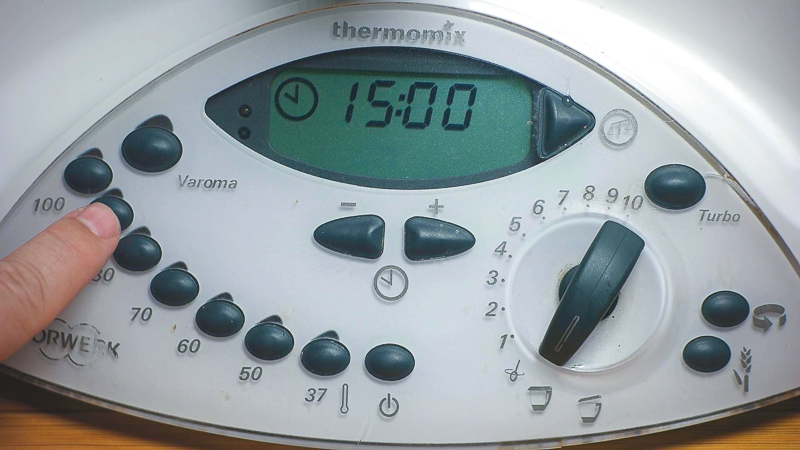 Programamos thermomix helado de crema catalana