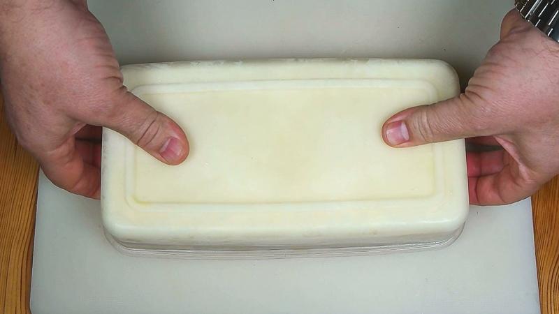 Desmoldar el helado de nata