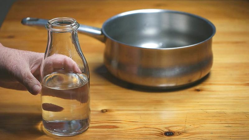 Agua para helado de café capuchino