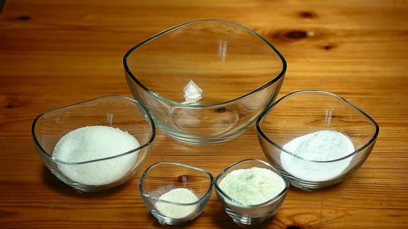 ingredientes para helado de mango