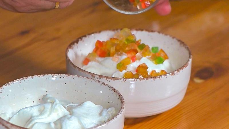 helado de Tuttifrutti