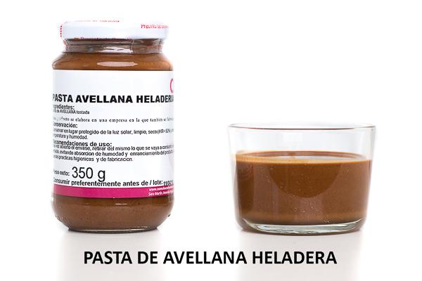 Pasta de Avellanas heladera